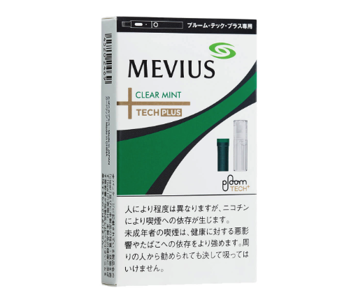 MEVIUS CLEAR MINT for Ploom TECH+