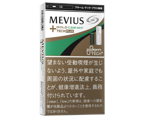 MEVIUS GOLD CLEAR MINT FOR Ploom TECH+