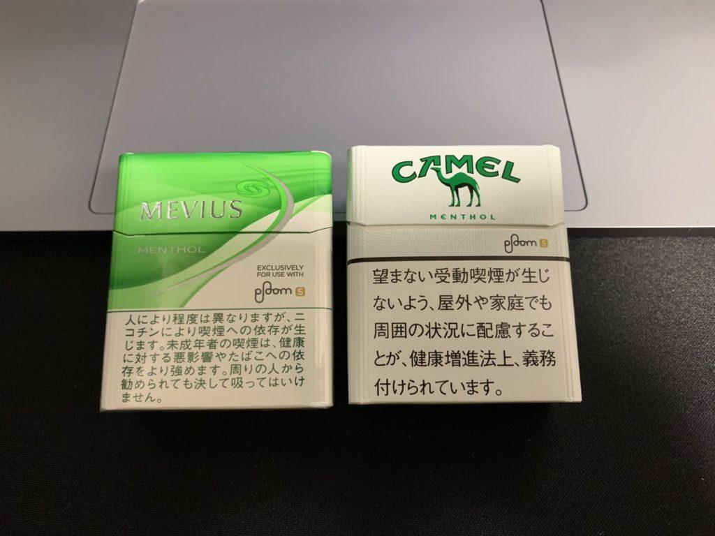 mevius-menthol-and-camel-menthol-comparison