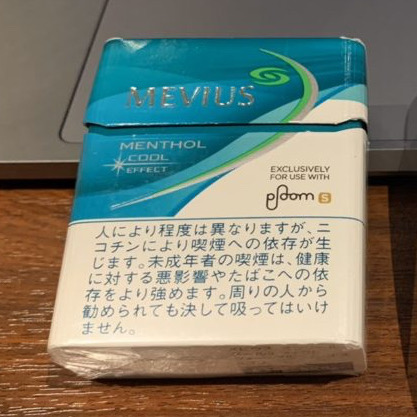 ploom s stick mevius menthol cool effect image